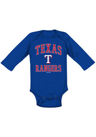 Texas Rangers Baby Blue #1 Design One Piece