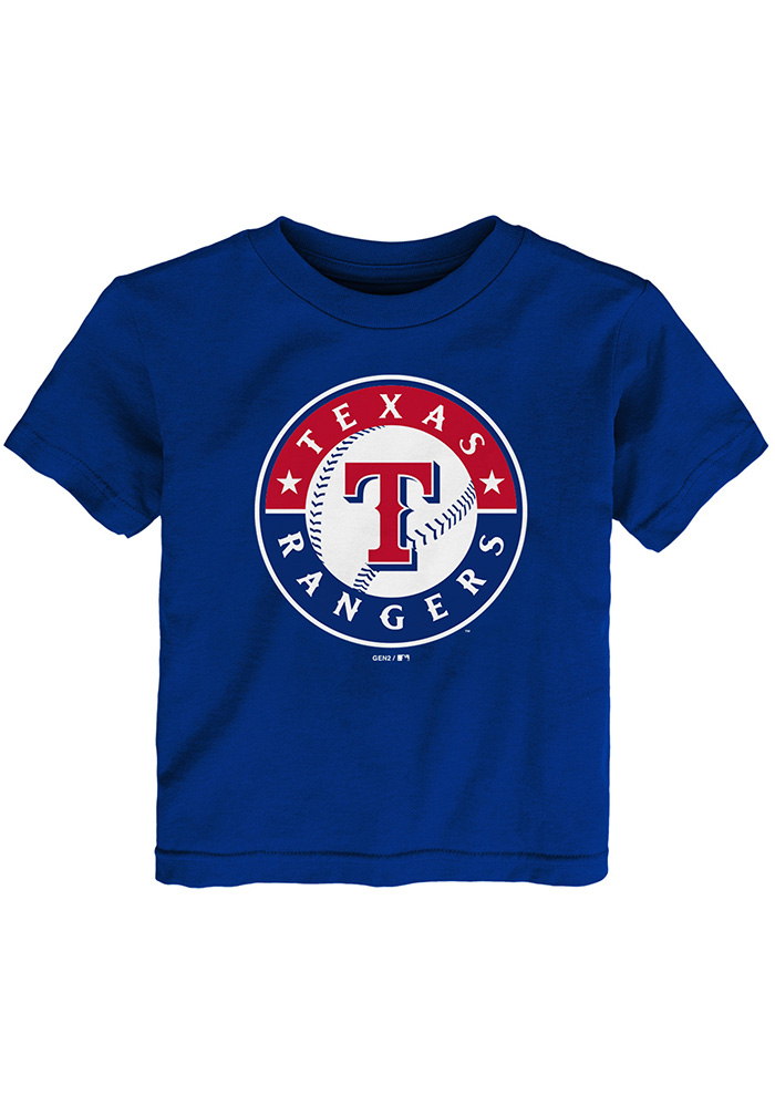 9dff2a86c Texas Rangers Toddler Blue Primary Short Sleeve T-Shirt - 13346494