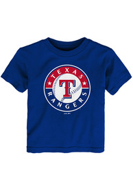 Texas Rangers Toddler Blue Primary T-Shirt