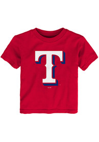 Texas Rangers Toddler Red Secondary T-Shirt