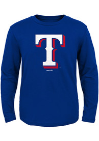 Texas Rangers Toddler Blue Secondary T-Shirt