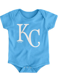 Kansas City Royals Baby Light Blue Official One Piece