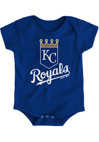 Kansas City Royals Baby Blue Primary One Piece