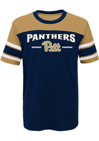 Pitt Panthers Youth Navy Blue Loyalty Fashion Tee