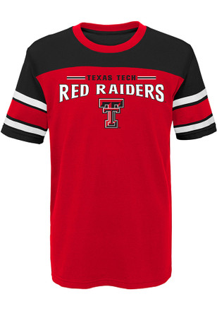 Texas Tech Red Raiders Boys Red Loyalty Fashion Tee