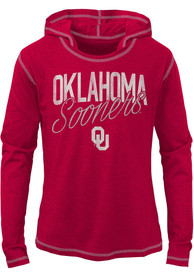 Oklahoma Sooners Girls Glory Days Long Sleeve T-shirt - Crimson