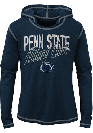 Penn State Nittany Lions Girls Navy Blue Glory Days Long Sleeve T-shirt