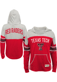Texas Tech Red Raiders Girls Red Monument Long Sleeve T-shirt
