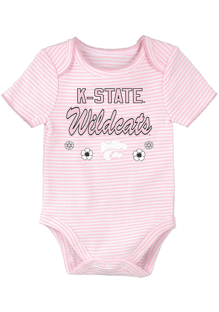 K-State Wildcats Baby Purple 3rd Quarter Set One Piece - Image 2