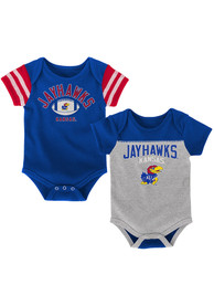 Kansas Jayhawks Baby Blue Vintage One Piece