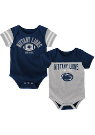 Penn State Nittany Lions Baby Navy Blue Vintage One Piece