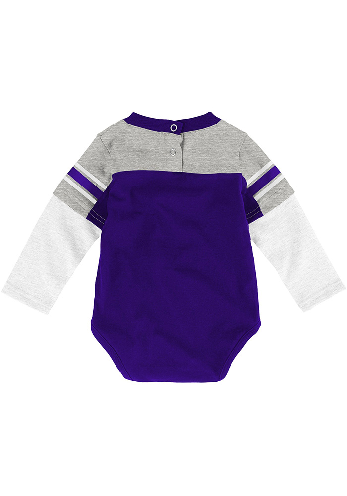 K-State Wildcats Infant Purple Halfback Set Top and Bottom - Image 3