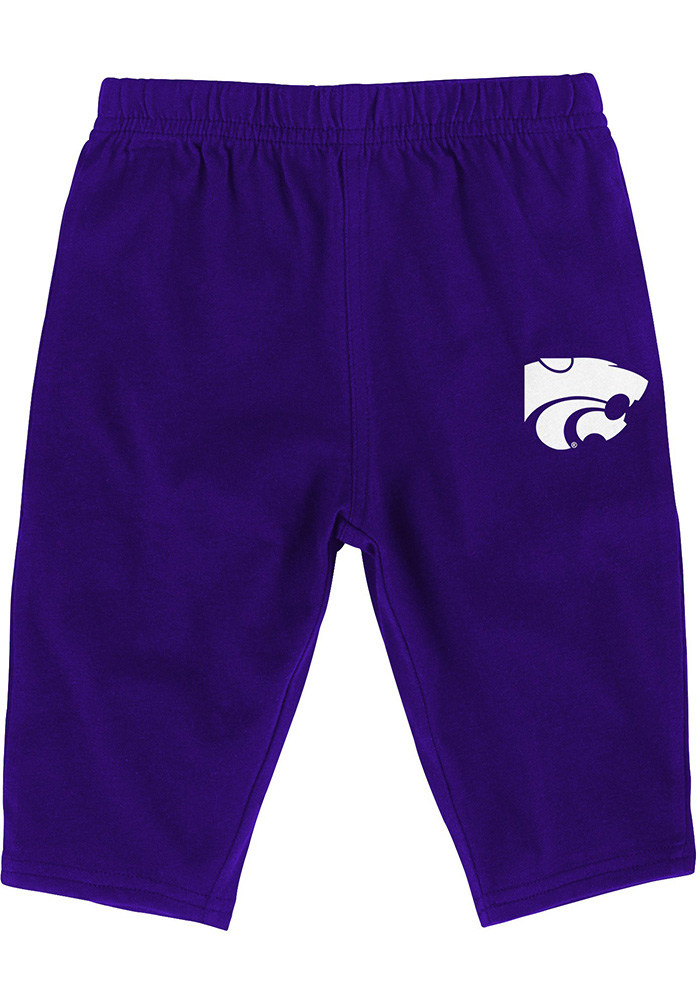 K-State Wildcats Infant Purple Halfback Set Top and Bottom - Image 4