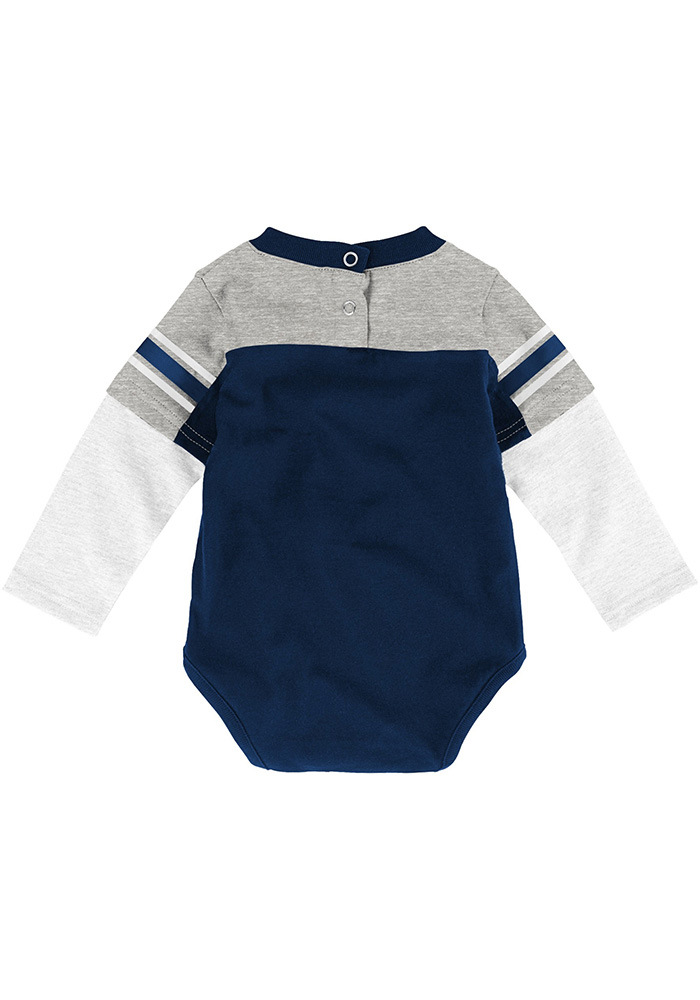 Penn State Nittany Lions Infant Navy Blue Halfback Set Top and Bottom - Image 3