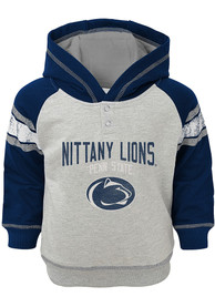 Penn State Nittany Lions Toddler Classic Stripe Hooded Sweatshirt - Navy Blue