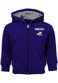 TCU Horned Frogs Toddler Red Zone Full Zip Sweatshirt - Purple