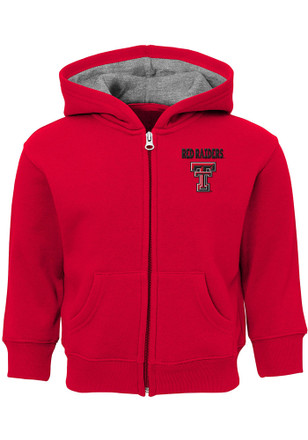 Texas Tech Red Raiders Toddler Red Red Zone Full Zip Jacket