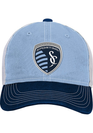 Sporting Kansas City Navy Blue Slouch Youth Adjustable Hat