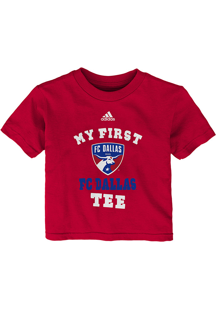 FC Dallas Infant My First Short Sleeve T-Shirt Red - Image 1