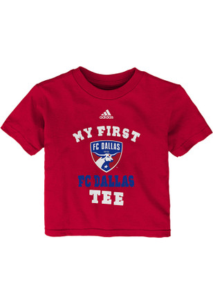 FC Dallas Red First Short Sleeve T-Shirt