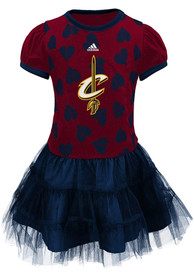 Cleveland Cavaliers Girls Love to Dance Dress - Red