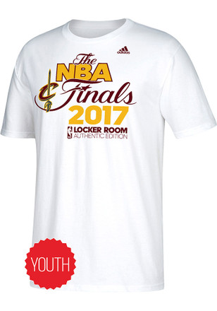 Cleveland Cavaliers Youth White 2017 Conference Champions T-Shirt