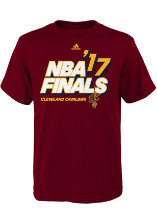 Cleveland Cavaliers Youth Maroon 2017 NBA Finals T-Shirt