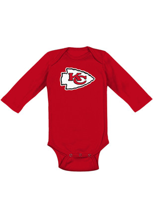 Kansas City Chiefs Baby Red Primary Creeper