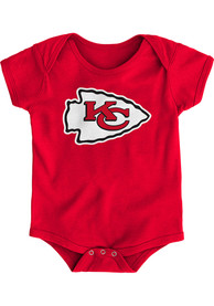 Kansas City Chiefs Baby Red Primary One Piece