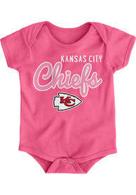 Kansas City Chiefs Baby Pink Big Game One Piece
