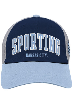 Sporting Kansas City Navy Blue Slouch Kids Adjustable Hat