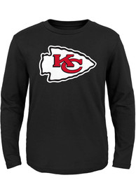 Kansas City Chiefs Boys Black Primary T-Shirt