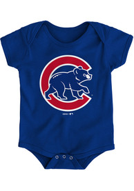 Chicago Cubs Baby Blue Secondary One Piece