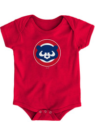 Chicago Cubs Baby Red Coopers One Piece