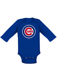 Chicago Cubs Baby Blue Primary One Piece