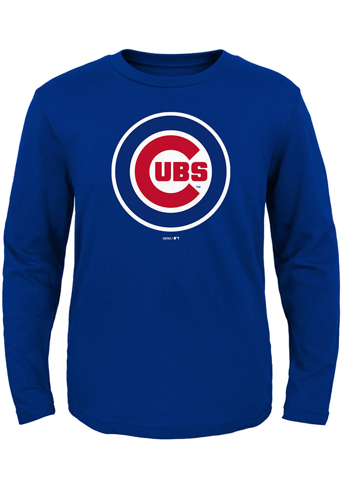 Chicago Cubs Toddler Red Primary T-Shirt