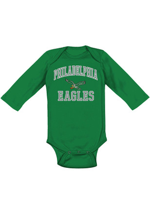 Philadelphia Eagles Baby Midnight Green #1 Design Creeper