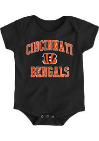 Cincinnati Bengals Baby Black #1 Design B One Piece
