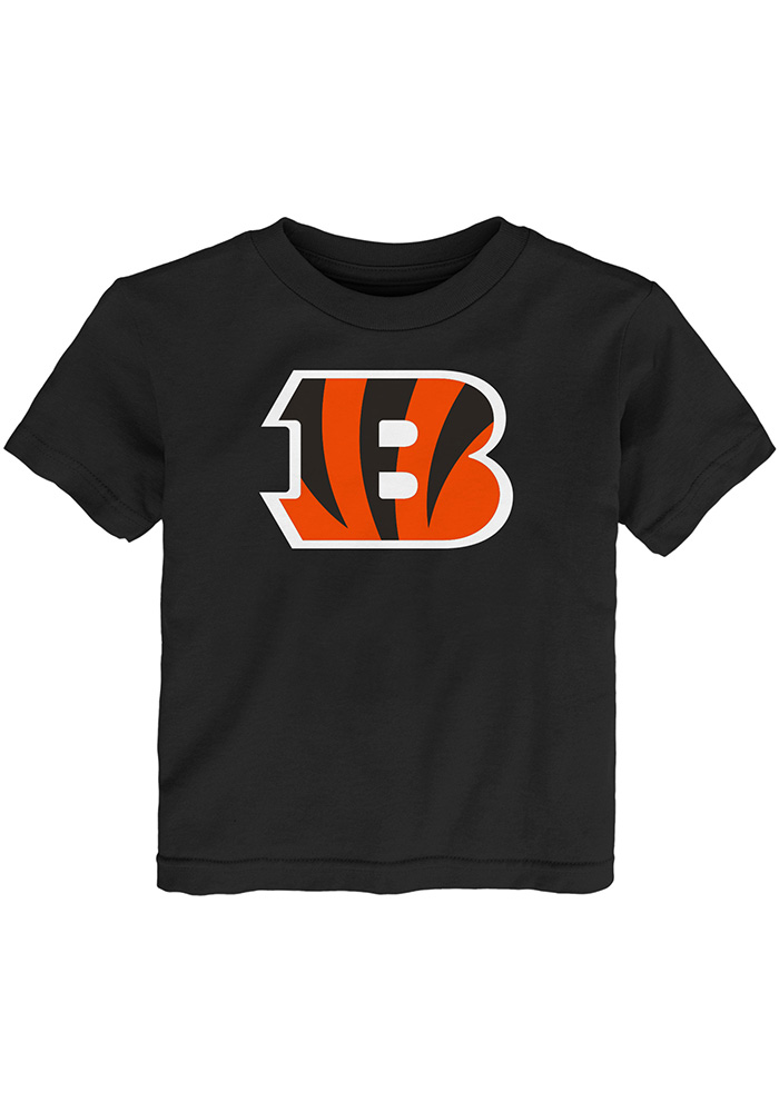 Cincinnati Bengals Toddler Black Primary Logo B Short Sleeve T-Shirt - Image 1