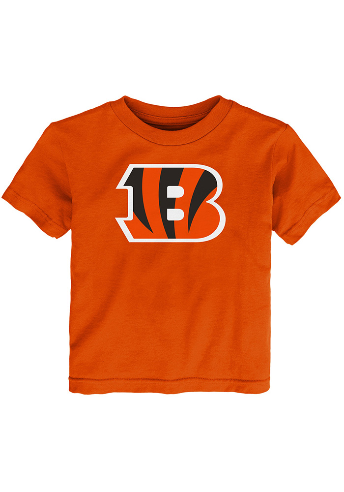 Cincinnati Bengals Toddler Orange Primary Logo B T-Shirt