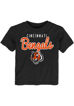 Cincinnati Bengals Toddler Black Big Game T-Shirt