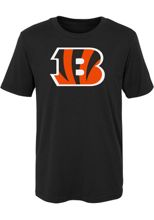 Cincinnati Bengals Boys Black Primary Logo B T-Shirt