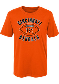 Cincinnati Bengals Boys Orange Little Kicker B T-Shirt