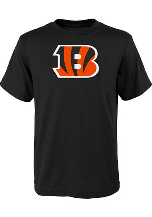 Cincinnati Bengals Kids Black Primary Logo B T-Shirt