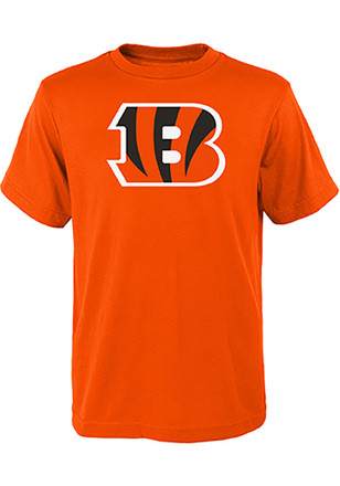 Cincinnati Bengals Kids Orange Primary Logo B T-Shirt