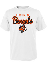 Cincinnati Bengals Youth White Big Game T-Shirt