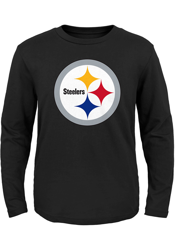 a56ef52e5a8 Pittsburgh Steelers Toddler Black Primary Logo T-Shirt