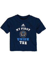 Philadelphia Union Infant My First T-Shirt - Navy Blue