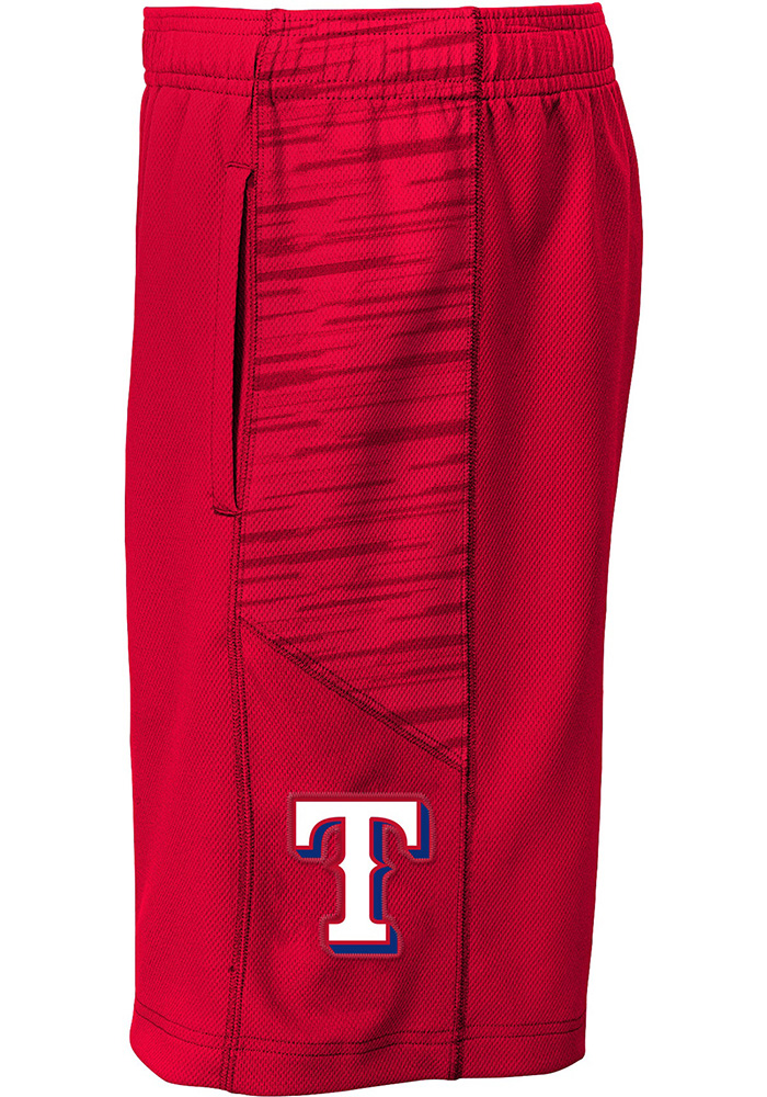 Texas Rangers Youth Red Caught Looking Shorts - Image 1