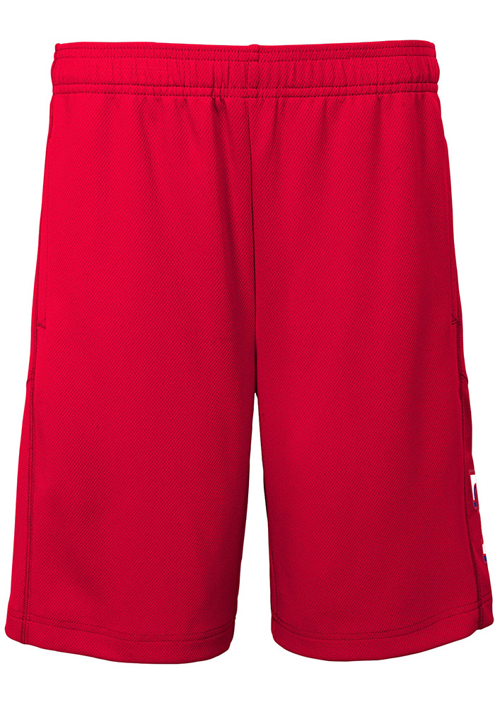Texas Rangers Youth Red Caught Looking Shorts - Image 2